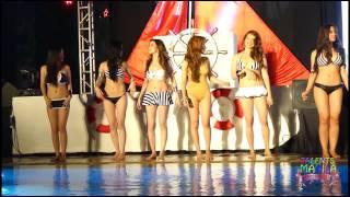 getlinkyoutube.com-CJ Young at FHM bikini pool heaven 2014 (TALENTS MANILA)