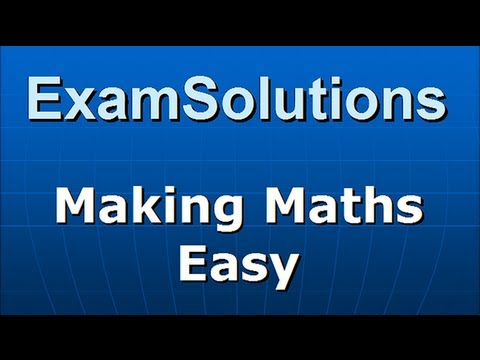 FP2 Edexcel June 2012 Q7(c) : ExamSolutions Maths Revision