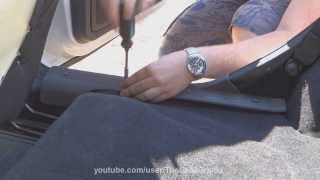 getlinkyoutube.com-Lada Granta - установка порогов пола.
