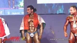 getlinkyoutube.com-You saw the Performance ! Now Witness the Winning !  Mr World 2014 - Sangram Chougule
