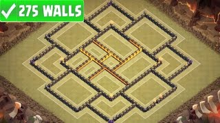 getlinkyoutube.com-Clash Of Clans   NEW TOWN HALL 10 TH10 ANTI 3 STAR WAR BASE w 275 WALLS   New Update