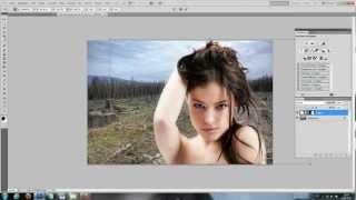 getlinkyoutube.com-Objekte schnell freistellen/ ausschneiden (maskierungsmodus) - Photoshop Tutorial