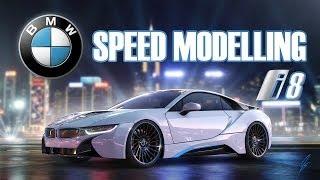 getlinkyoutube.com-3D Timelapse: BMW i8 - Autodesk Maya