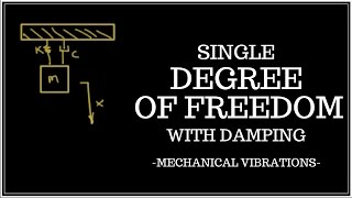 Free Vibrations of a Single Degree of Freedom (SDOF) System with Viscous Damping
