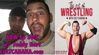 getlinkyoutube.com-Teddy Hart - Art of Wrestling Ep 303 w/ Colt Cabana