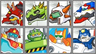 getlinkyoutube.com-Dino Robot Corps + Rescue Bots - Full Game Play - 1080 HD