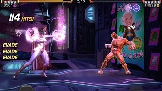 getlinkyoutube.com-Scarlet Witch vs. Cyclops Alliance Quest Boss Battle | Marvel Contest of Champions