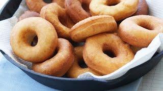 getlinkyoutube.com-Творожные пончики в масле (Рецепт вкусных пышек)