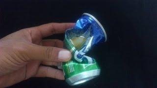 getlinkyoutube.com-Trik Mengembalikan Kaleng Minuman Rusak Menjadi Baru Lagi dan Ada Isinya Pula