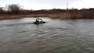 Can Am Maverick 1000 and 2015 RZR 900 Trail Snorkel testing