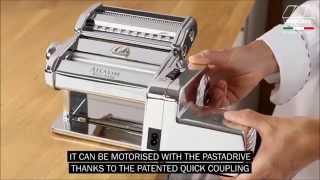 Introducing the Marcato Atlas 150 Pasta Maker