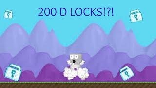 getlinkyoutube.com-200 Diamond Locks!?!