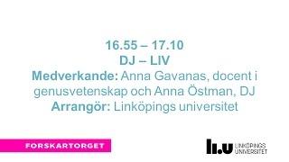 Forskartorget2016 - DJ-liv