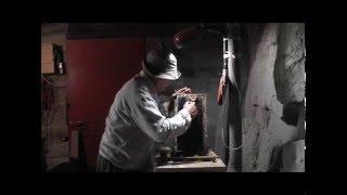 getlinkyoutube.com-Пчёлки 36.  Чудо нож для распечатывания сотов
