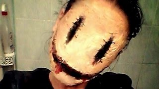 getlinkyoutube.com-Halloween Makeup - SMILEY
