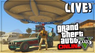 getlinkyoutube.com-GTA 5 Online Zombies UFO & Space Monkeys! GTA Online PS4 Gameplay Live Stream (GTA V)