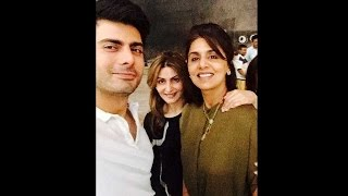 getlinkyoutube.com-Fawad Khan finds new fans in Riddhima & Neetu Kapoor, shares selfie