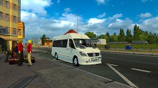 getlinkyoutube.com-Euro Truck Simulator 2  Mercedes Sprinter 515