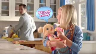 getlinkyoutube.com-Toy Commercial 2014 - Baby Alive - My Baby All Gone - More Than 30 Phrases