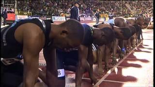 getlinkyoutube.com-100m - Usain Bolt - 9.77 - Golden League Brussels 2008