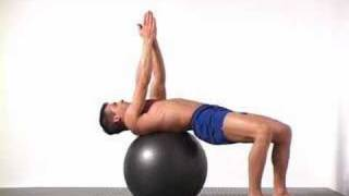 getlinkyoutube.com-5 Swiss Ball Torso Twist
