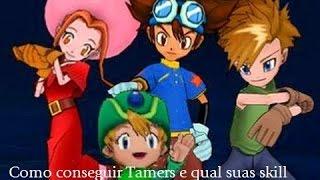 getlinkyoutube.com-Digimon Masters - Como conseguir Tamers e Qual Suas Skill