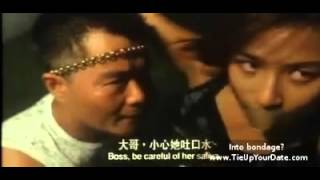 Asian kidnapping and bondage scene