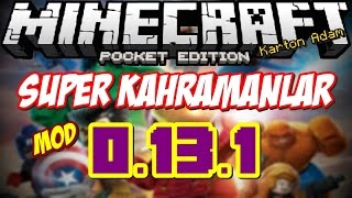 getlinkyoutube.com-Minecraft PE: Süper Kahramanlar Modu 0.13.1