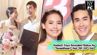 "getlinkyoutube.com-[ENG SUB] Nadech Yaya Revealed Status As ""Sweetheart"" Not ""BF/GF"" Yet. Share Good Things 1/4/16"