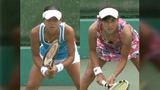 getlinkyoutube.com-全日本ジュニアテニス選手権 '12 U18 決勝 澤柳璃子 VS 加藤未唯