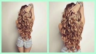 getlinkyoutube.com-Cómo hacer Ondas o rizos sin calor! Sin Dañar tu cabello! Heatless Curls CINDYLIMON