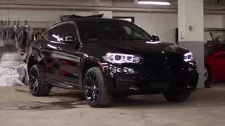 getlinkyoutube.com-2015 BMW X6 - Black Beauty