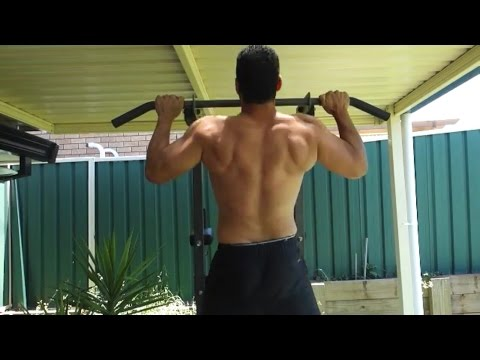 200 PULL UPS A DAY FOR 2 WEEKS RESULTS