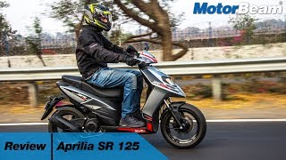 Aprilia SR 125 Review - SR 150 A Better Bet? | MotorBeam