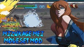 getlinkyoutube.com-MIZUKAGE MEI MOVESET MOD | Naruto Shippuden Ultimate Ninja Storm Revolution Mods