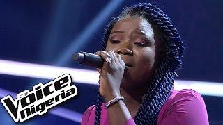 getlinkyoutube.com-Khemmie sings 'Olorun' / Blind Auditions / The Voice Nigeria 2016