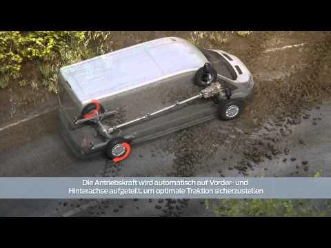 FORD TRANSIT AWD - All Wheel Drive - 4x4 - System