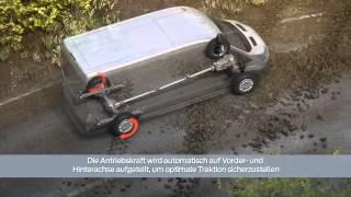 getlinkyoutube.com-FORD TRANSIT AWD - All Wheel Drive - 4x4 - System