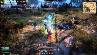 getlinkyoutube.com-Black Desert Online High Level Witch Gameplay