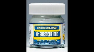 getlinkyoutube.com-Mr Hobby : Mr.Surfacer Modeling Filler 500, 1000 & 1200 Grade : Product Review / Tutorial