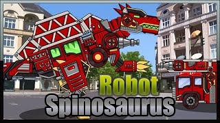 getlinkyoutube.com-Dino Robot Spinosaurus - Game Show - Game Play - 2015 - HD