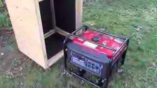 getlinkyoutube.com-Generator Quiet Box (Baffle Box)