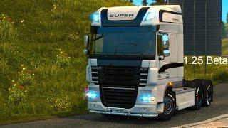 getlinkyoutube.com-Euro Truck Simulator 2 [Beta 1.25] DAF XF 105 + Features and Improvements