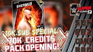 WWE SuperCard : 70k+ CREDITS SURVIVOR TIER PACK OPENING - PART ONE