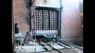 getlinkyoutube.com-Brick firing Tunnel kiln.flv