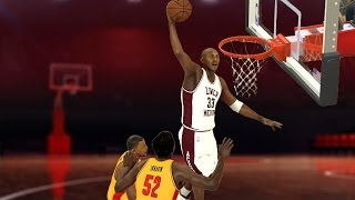 getlinkyoutube.com-NBA 2K17 - High School Hoops 2K17 - Kobe & Lower Merion vs. Melo & Oak Hill