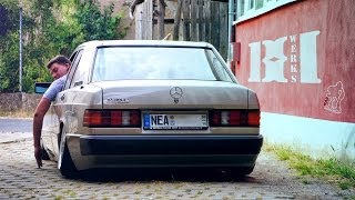 getlinkyoutube.com-Mercedes 190 LOW!