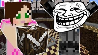 getlinkyoutube.com-Minecraft: BLOCK MONSTERS TROLLING GAMES - Lucky Block Mod - Modded Mini-Game