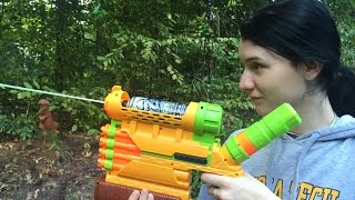 getlinkyoutube.com-Honest Review: The Nerf Biosquad Abolisher ZR-800 (Zombie Strike Unboxing and Demo)