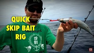 SIMPLE SKIP BAIT RIG - YouFishTV